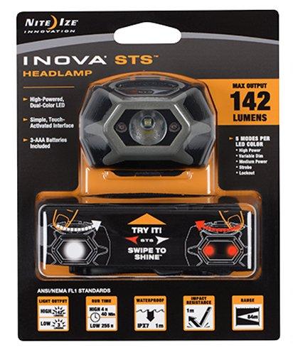 Preisvergleich Produktbild Inova LED STS Kopflampe 142 Lumen, Grau I-HLSA-09-R7-I