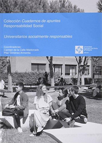 Universitarios socialmente responsables (Cuadernos de apuntes) por VV.AA.