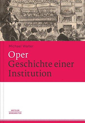 Chor Einfache Kostüm - Oper. Geschichte einer Institution