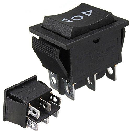 Wipptaster, 12V, AC 250V / 16A, 6-Pin-Schalter, 2-poliger Umschalter, für Antenne, elektrische Fensterheber, Schiebedächer -