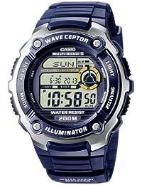 Casio Funkuhren Herren-Armbanduhr Digital Quarz WV-200E-2AVEF