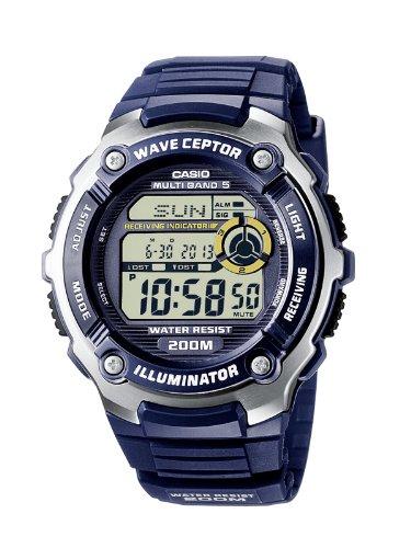 Wave Ceptor Herren Armbanduhr WV-200E-2AVEF - 20 Klare Mini-lichter