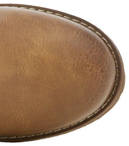 Refresh - 063922, Stivali da motociclista Donna Beige (cammello)