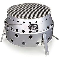 Petromax Atago Grill Kesselform Edelstahl–Barbecues und Grills (Grill, Kesselform, Gitterrost, Edelstahl, rund)
