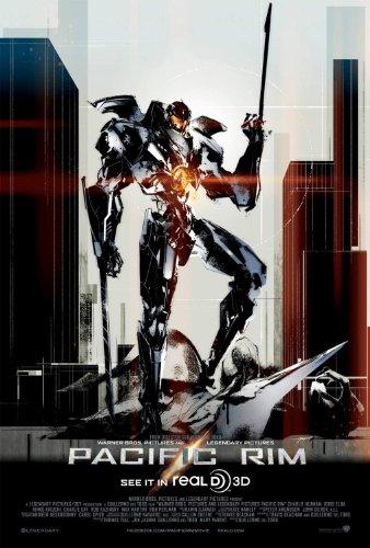 Pacific Rim Einseitig Filmplakat Regular (Mini) - Selten exklusiv Yoji Shinkawa Kunstwerk Poster - Original-Kinoplakat (28Cm X 43Cm) (Kino-erinnerungsstücke)