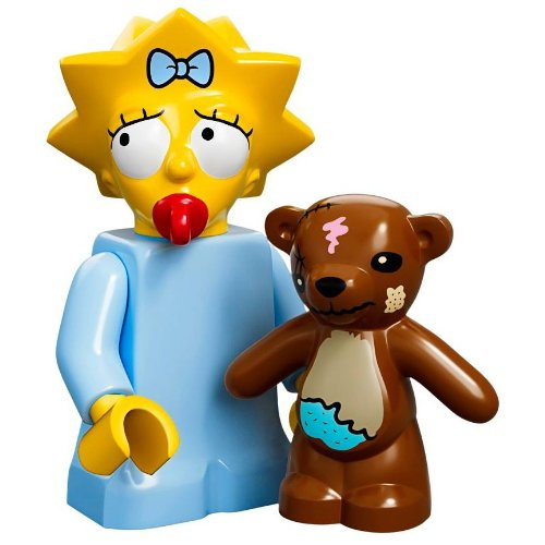 Lego Minifiguras serie 71005 - MAGGIE Simpson