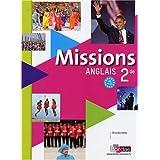 Anglais 2e Missions : A2 vers B1 (1CD audio)