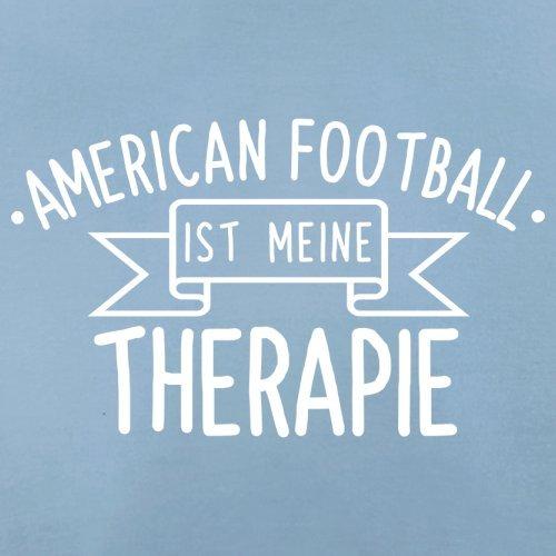 American Football ist meine Therapie - Herren T-Shirt - 13 Farben Himmelblau