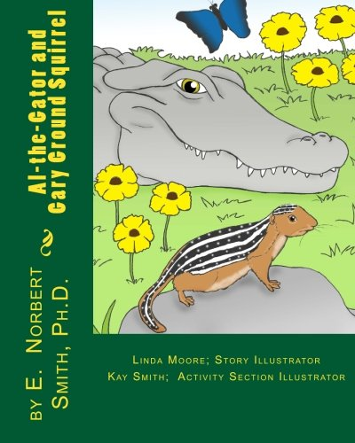 Al-the-Gator and Gary Ground squirrel -