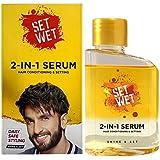 Set Wet 2-In-1 Serum, Shine & Set (Hair Serum For Men), 100 ml