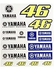 Pegatinas Yamaha Factory Racing Valentino Rossi