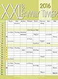 XXL Family Timer 8 2016: Familientimer mit Ferienterminen und Vorschau bis März 2017