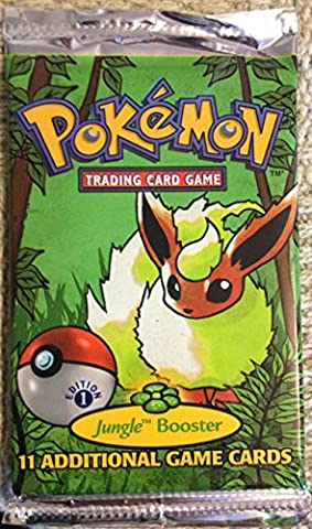 Pokemon Card Game Jungle 1ST EDITION Booster Pack by Wizards