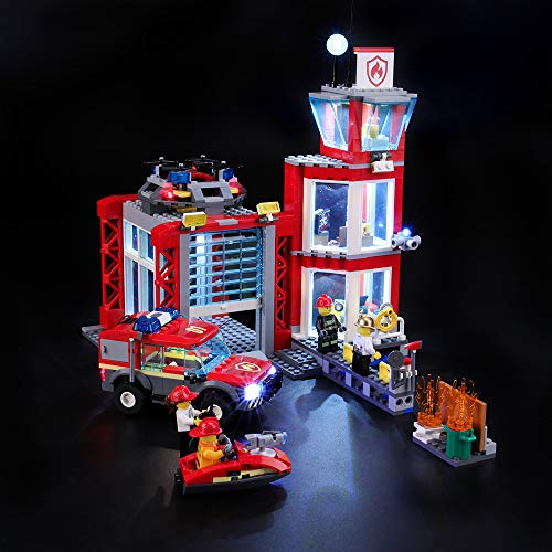 BRIKSMAX Kit Iluminación Led Lego City Fire Parque