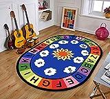 LFF Bedruckter Teppich für Kinder mit Teppichboden für Kinder