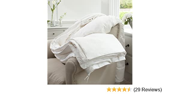 huge selection of 5bc5b 2e94c Jasmine Silk All Season Combination (9 Tog + 4.5 Tog) 100% Mulberry Silk  Filled Duvet Quilt - Double or Queen (200 x 200cm)