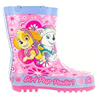 Girls Paw Patrol Grainsgill Pink Wellies