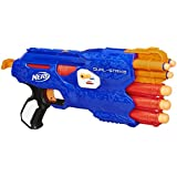 Nerf N Strike Elite Dual Strike Blaster, Multi Color
