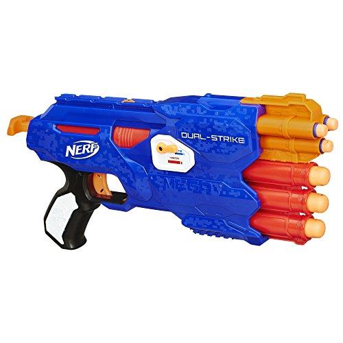 Hasbro B4619 Pistola de Juguete Arma de Juguete - Armas de Juguete (Pistola de Juguete, 8 Año(s), Niño, Negro, Azul, Naranja, Rojo, Blanco, Nerf N-Strike, 1 Pieza(s))