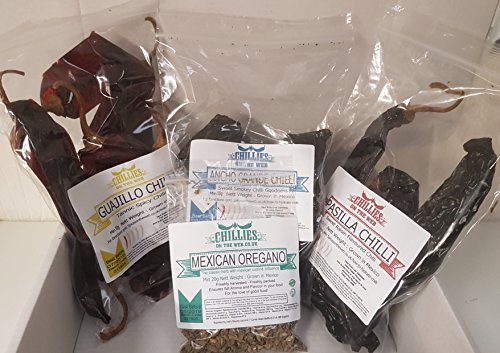 Holy Trinity Mexican Chilli Pack (20g)
