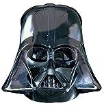 Anagram 2844501 - Party und Dekoration - Folienballon SuperShape - Star Wars - Darth Vader, circa 63 x 63 cm