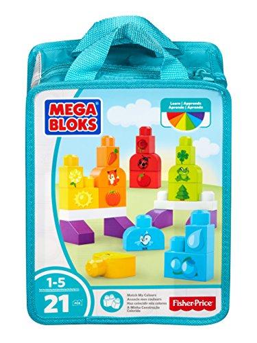 Mega Bloks- Bloques Aprende Colores Mattel Spain DXH33