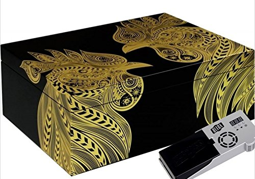 Cigar Oasis Ultra 2.0 Adorini Humidor Sonderedition Jahr des Hahns