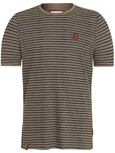Naketano Male T-Shirt Dieser Schwanz III heritage dark grey melang