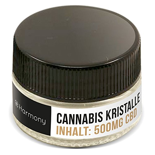 *Harmony CBD Cannabis Kristalle (nikotinfrei,99% reine Kristalle), 500 mg*