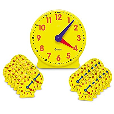 Learning Resources Big Time Classroom Clock Kit from Learning Resources
