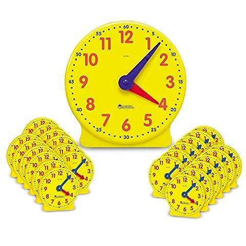 Horloge Kit - Learning Resources Kit d'Horloges Big Time pour