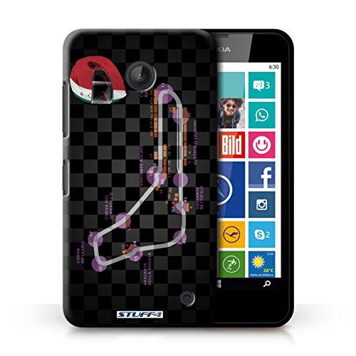 iCHOOSE Print Motif Coque de protection Case / Plastique manchon de telephone Coque pour iPhone 6+/Plus 5.5 / Collection 2014 F1 Piste / Espagne/Catalogne Italie/Monza