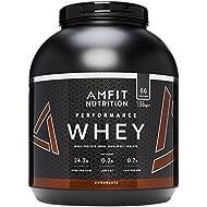 Amazon Brand - AMFIT NUTRITION Protein Drink Mix, Chocolate Cream, 1980 g