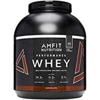 Amazon Brand - AMFIT NUTRITION Protein Drink Mix, Chocolate Cream, 1980 g