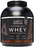 Best La proteína pura proteína de suero de leche pura proteína en polvo - Marca Amazon - Amfit Nutrition Proteína Whey de Review