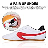 Alomejor Taekwondo Sport Gym Schuhe, Unisex Boxen Karate Kung Fu Tai Chi trainieren Schuhe für Kinder Erwachsene Hot, 43