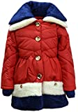 #10: Come In Kids Girls Full Sleeve Winterwear Collor Neck Quilted Jacket