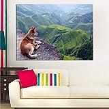 Best Dog Frame - Aart Store HD Printed Home Décor Designer Dog Review