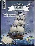 Escape Adventures – Von Schmugglern und Entdeckern: Das ultimative Escape-Room-Erlebnis jetzt auch als Buch! Mit XXL-Mystery-Map für 1-4 Spieler. 60 Minuten Spielzeit