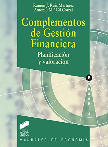 Complementos de Gestión Financiera (Manuales de economía nº 2 ...