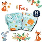 Paw Paw Reusable Fabric Diapers/Washable Cloth Diapers with Inserts