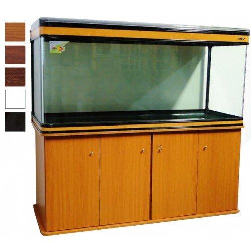 Boyu Aquarium mit Unterschrank, für tropische/Salzwasser-Aquarien, aus Mahagoni, mit T8-Beleuchtung, 153cm, 520l