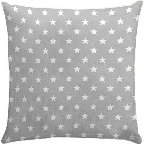 db6ef2882726 Martina Home Candy Star Cushion Cover 50 x 50 cm grey