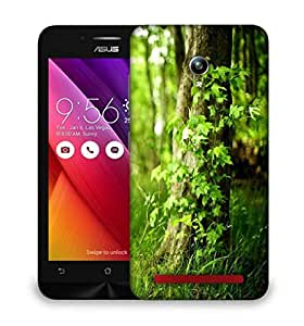 Snoogg Grass And Trees Designer Protective Phone Back Case Cover For Asus Zenfone GO