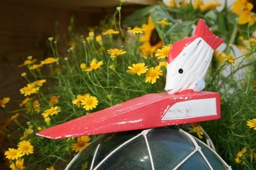 FISH DOOR STOPPER 4 RED - NAUTICAL DECOR by...