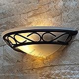 Wand Lampe Leuchte Design Licht Leselampe Metall Glas weiß Rabalux Athen 3721