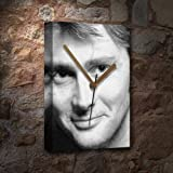 DAVID TENNANT - Canvas Clock (A5 - Signed by the Artist) #js006
