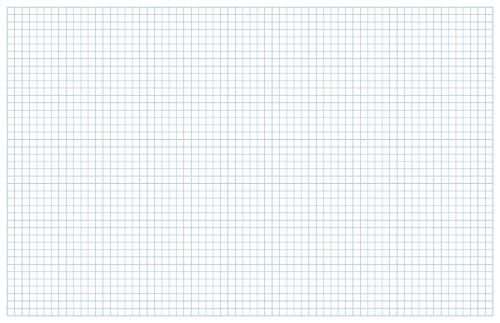 Blueprint und Graph Papier 11x17