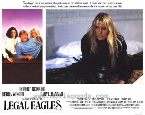 Legal Eagles Plakat Movie Poster (11 x 14 Inches - 28cm x 36cm) (1986) C (1986 Poster)