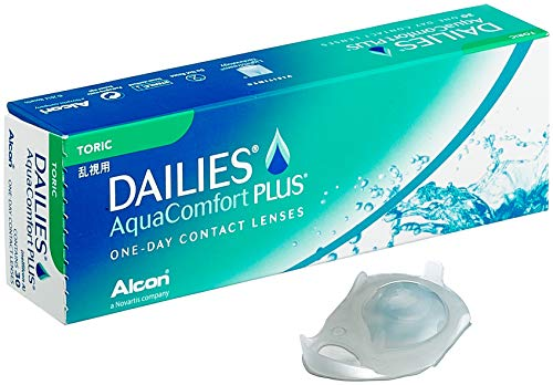 Alcon Dailies AquaComfort Plus Toric Tageslinsen 30 Stück / BC 8.8 mm / DIA 14.4 / CYL -0.75 / ACHSE 170 / +0.254 Dioptrien